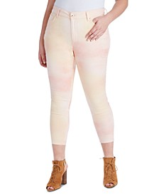 Trendy Plus Size Adored Skinny Ankle Jeans