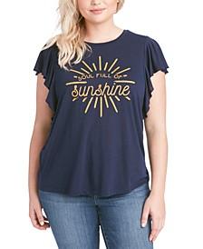 Trendy Plus Size Soul Full Of Sunshine T-Shirt