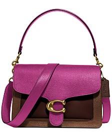 Colorblock Tabby Shoulder Bag