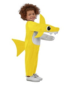 Baby Shark Big Girl and Boy Chompin' Baby Shark Costume with Sound Chip