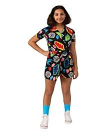 Stranger Things Big Girl 3 Eleven's Mall Dress Costume