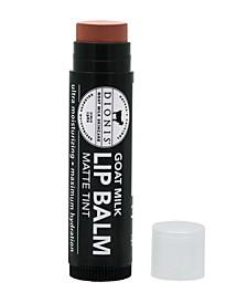 Matte Tint Goat Milk Lip Balm, Barn Babe, 0.15 oz