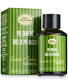 The Coriander & Cardamom Pre-Shave Oil, 2-oz.