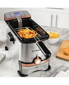 3.2 Qt. Digital Deep Fryer with Oil Filtration