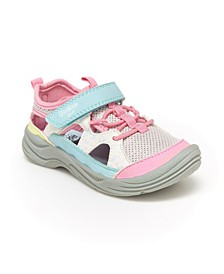 B'Gosh Little Girls Selene Bump Toe Sandal