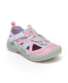 Oshkosh B'Gosh Toddler and Little Kids Girls Pandy Bump Toe Sandal