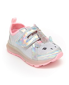 Toddler and Little Girls Lighted Sneaker