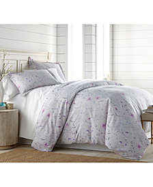 Southshore Fine Linens Secret Meadow Comforter and Sham Set, King