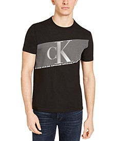 Calvin Klein Jean Men's Flash Stripe T-Shirt