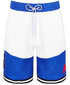 Men's Colorblocked Basketball Shorts