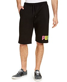 Men's Big Logo Fleece Shorts