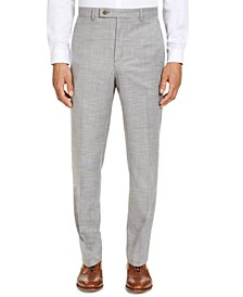 Men's Classic-Fit UltraFlex Stretch Sharkskin Dress Pants