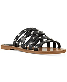 Candy Strappy Slide Sandals