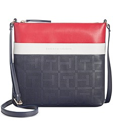 Callie Perforated Crossbody
