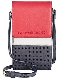 Callie Perforated Phone Crossbody