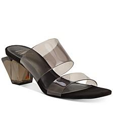 INC Women's Calantha Slide Dress Sandals, Created for Macy's