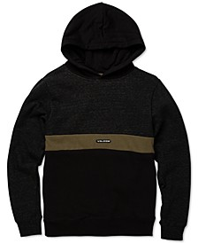 Big Boys Colorblocked Fleece Hoodie