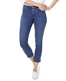Tummy-Control Sheri Cropped Jeans