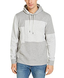 Men's Pieced Hoodie, Created for Macy's
