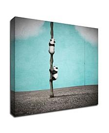 Beanstalks by Greg Noblin Print on Canvas