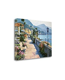 Bellagio Promenade by Howard Behrens Giclee Print on Gallery Wrap Canvas