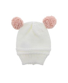 Dream Baby Girls Knitted Hat with Ears