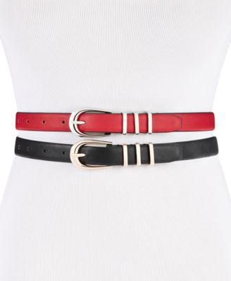 2-for-1 Skinny Belts