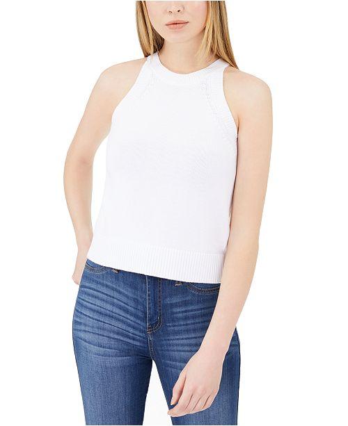 Calvin Klein Jeans High Neck Tank Top