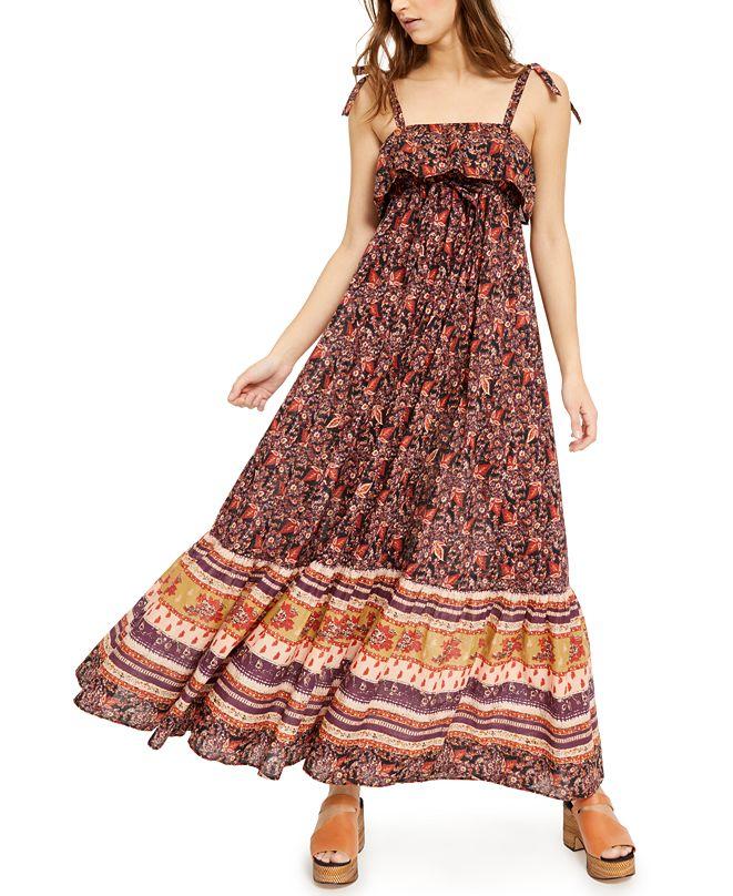 Free People Tangier Babydoll Maxi Dress