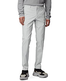 BOSS Men's Kaito1 Light Pastel Grey Pants