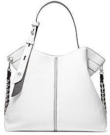 Michael Michael Kors Downtown Astor Large Leather Shoulder Bag
