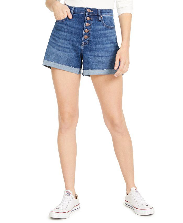 Calvin Klein Jeans - Cuffed Denim Shorts