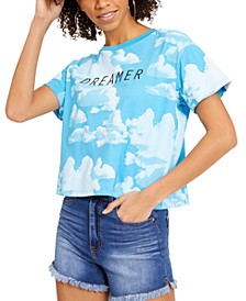 Juniors' Dreamer Graphic T-Shirt
