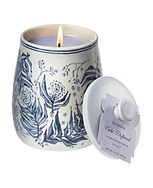 Viola Driftwood Ceramic Large candle