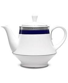 Crestwood Cobalt Platinum Tea Pot