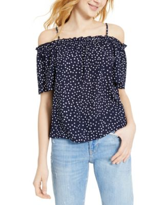 One Hart Juniors Off-The-Shoulder Sweater