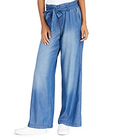 Juniors' Wide Leg Pants