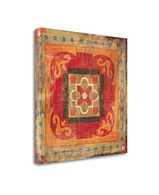 Moroccan Tiles XII by Cleonique Hilsaca Giclee Print on Gallery Wrap Canvas
