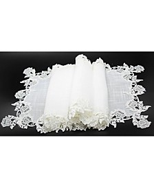 Lace Trim Table Runner