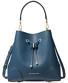 Mercer Gallery Convertible Bucket Leather Shoulder Bag