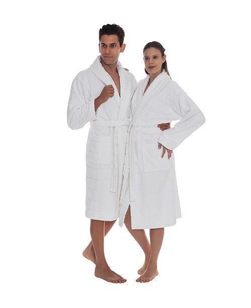 OZAN PREMIUM HOME Mirage Unisex Turkish Cotton Bath Robe