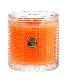 Valencia Orange Textured Candle