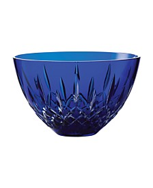"Lismore 8"" Blue Bowl"