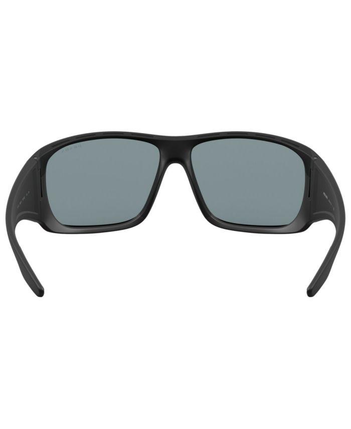 Prada Linea Rossa Sunglasses, PS 04VS 66 & Reviews - Sunglasses by Sunglass Hut - Men - Macy's