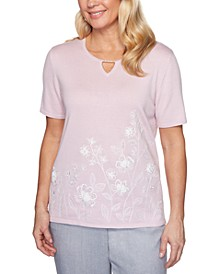 Primrose Garden Embroidered Top