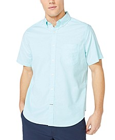 Men's Oxford Short Sleeve Shirt, Created for Macy's