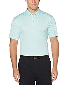 Men's Mini-Argyle Jacquard Polo