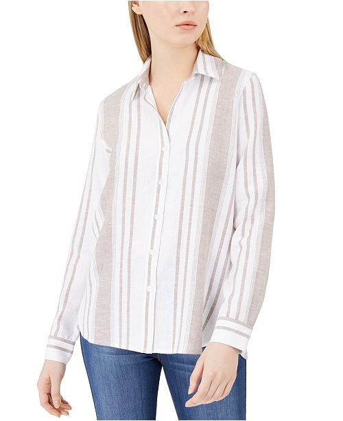 Calvin Klein Jeans Striped Button-Up Shirt