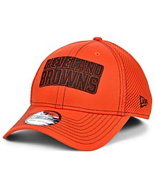 Cleveland Browns Team Color Silicone Neo 39THIRTY Stretch Fitted Cap
