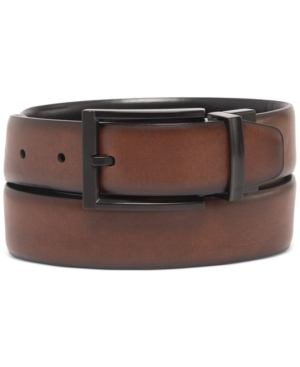 Men's Tonal-Buckle Belt